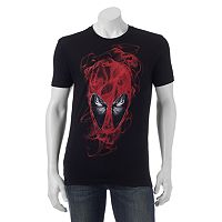 Men's Marvel Deadpool Smoky Head Tee