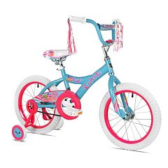 Girls Kent 16 in Cupcake Bike with Training Wheels