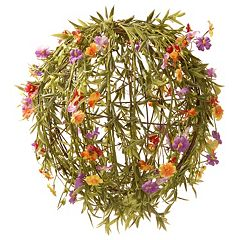National Tree Company 12' Garden Accents Artificial Flower Ball