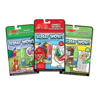 Melissa & Doug Water Wow! Activity Bundle