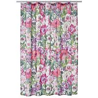 LC Lauren Conrad Watercolor Garden Shower Curtain