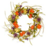 "National Tree Company 22"" Garden Accents Artificial Floral Daisy Wreath"