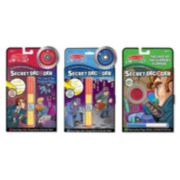 Melissa & Doug Secret Decoder Spy Set