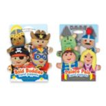 Melissa & Doug Bold Buddies & Palace Pals Hand Puppet Adventure Set