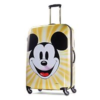 Disney's Mickey Mouse Face 28-Inch Hardside Spinner Luggage by American Tourister