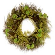 National Tree Company 24' Garden Accents Artificial Fern and Lavender Wreath