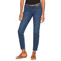 Women's Apt. 9® Curvy Fit Ankle Skinny Jeans