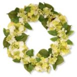 "National Tree Company 24"" Garden Accents Artificial Hydrangea Wreath"