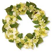 National Tree Company 24' Garden Accents Artificial Hydrangea Wreath