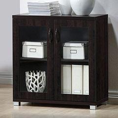 Baxton Studio Zentra Sideboard Storage Cabinet