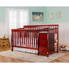 Dream On Me Brody 5-in-1 Convertible Crib with Changer  by