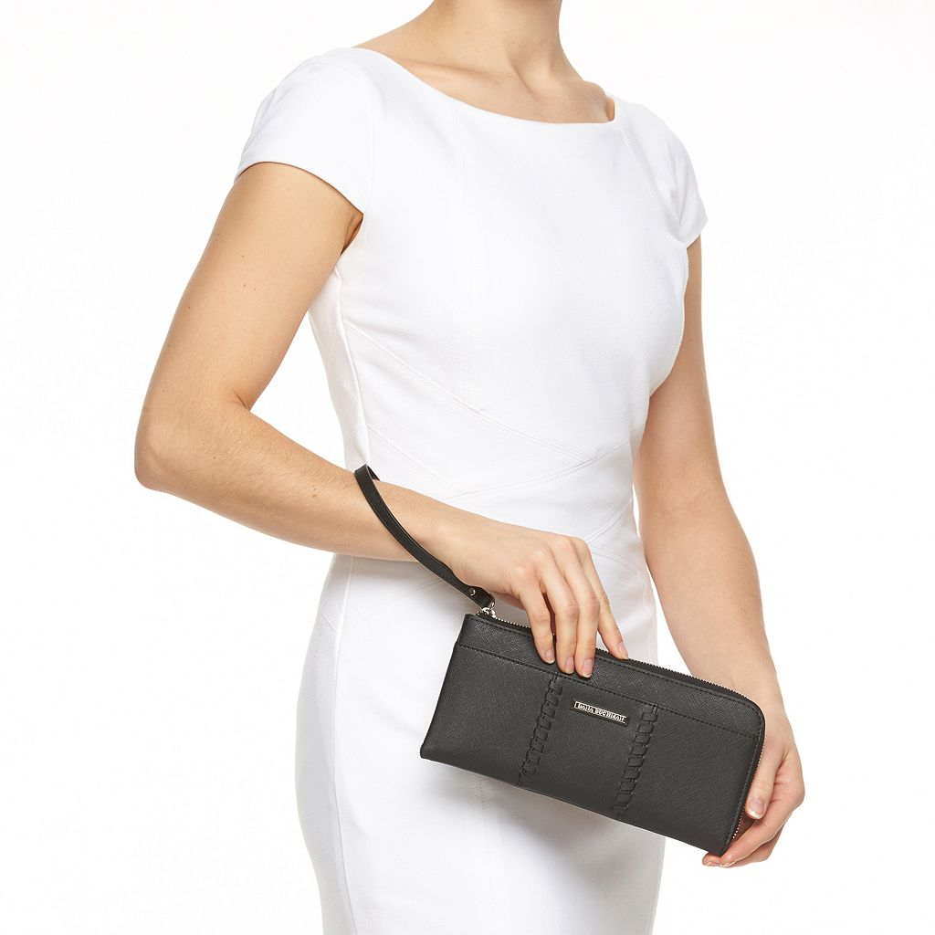 Dana Buchman Claire Laced Zip Wallet