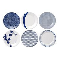 Royal Doulton Pacific 6 pc Accent Plate Set