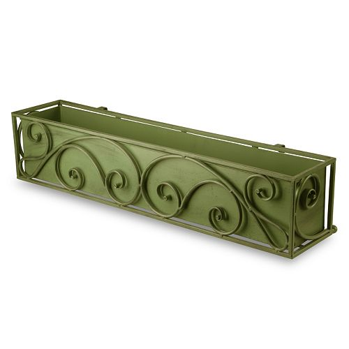 "National Tree Company 30"" Garden Accents Decorative Rectangular Planter"