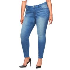 Plus Size Jennifer Lopez Modern Fit Skinny Jeans