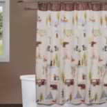 Saturday Knight, Ltd. Camping Critters Shower Curtain