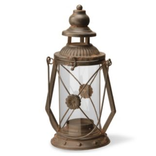 "National Tree Company 13"" Garden Accents Rustic Lantern"