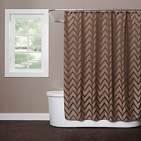 Saturday Knight, Ltd. Chevron Shower Curtain
