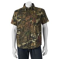 Men's Tallwoods Classic-Fit High-Definition Camo Button-Down Shirt