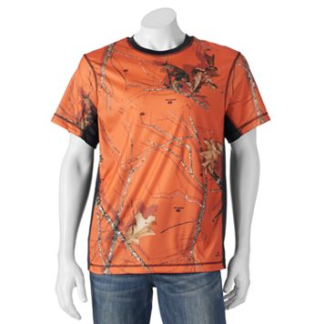 Men's Tallwoods Classic-Fit Camo Colorblock Performance Tee