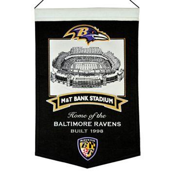 Baltimore Ravens Stadium Banner