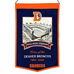 Denver Broncos Stadium Banner