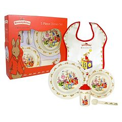 Royal Doulton Bunnykins 5 pc Children's Dinnerware Set