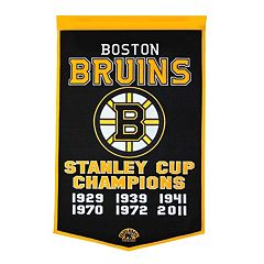Boston Bruins Dynasty Banner