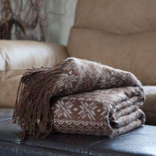 Jacquard Blanket Throw