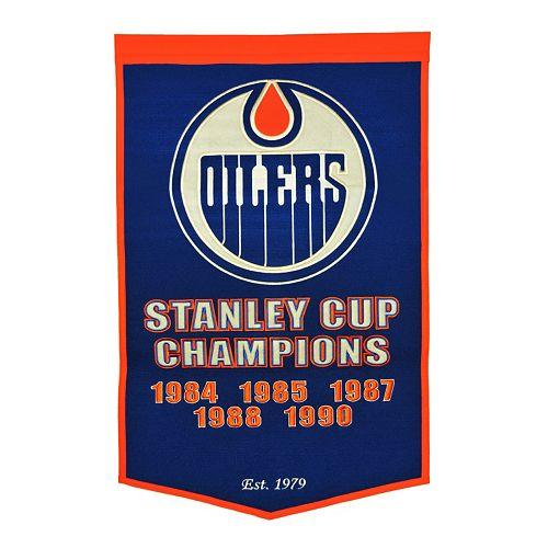 Edmonton Oilers Dynasty Banner