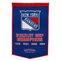 New York Rangers Dynasty Banner
