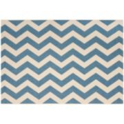 Safavieh Courtyard Foxtrot Chevron Indoor Outdoor Rug