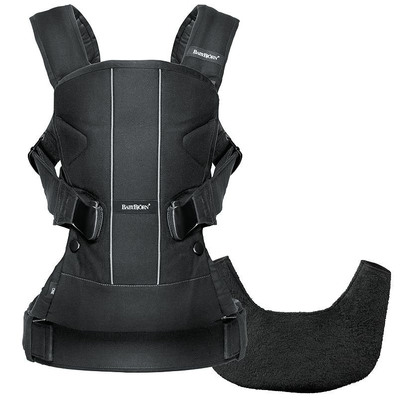 BabyBjorn Black Baby Carrier One