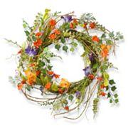 National Tree Company 22' Artificial Morning Glory Wreath