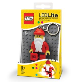 LEGO Classic Santa LED Lite Key Light by Santoki