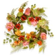 "National Tree Company 22"" Artificial Spring Floral Wreath"