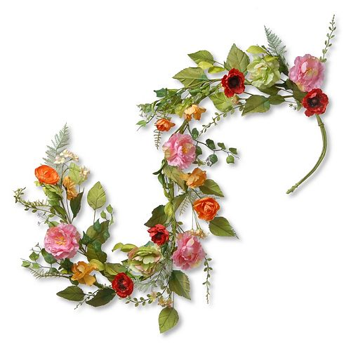 National Tree Company 5 Ft. Artificial Spring Floral Garland