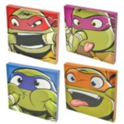 Teenage Mutant Ninja Turtles 4-pc. Canvas Wall Art Set