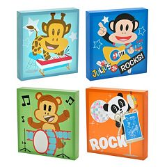 Julius Jr. 4 pc Canvas Wall Art Set