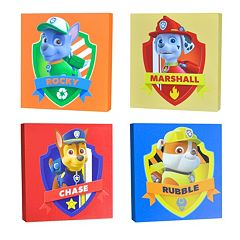 Paw Patrol 4-pc. Canvas Wall Art Set