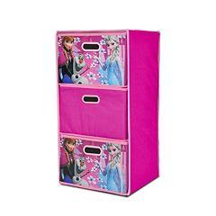 Disney Frozen Collapsible 3-Drawer Storage Chest