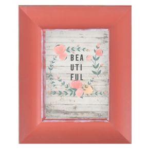 """Belle Maison """"Thankful Grateful Blessed"""" Framed Wall Art"""