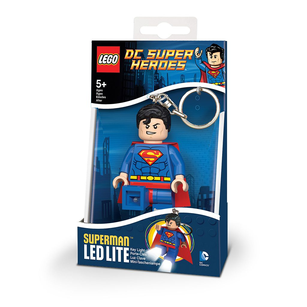 LEGO DC Comics Superman LED Lite Key Light by Santoki