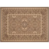 Safavieh Courtyard Adobe Framed Floral Indoor Outdoor Rug