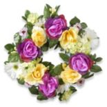 "National Tree Company 18"" Artificial Floral Wreath"