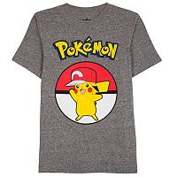 Boys 8-20 Pokemon Tee