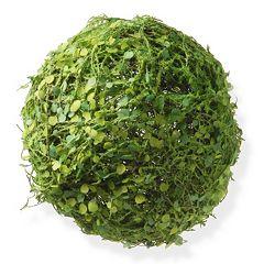 National Tree Company 8' Artificial Mini Leaves Ball