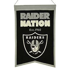 Oakland Raiders Franchise Banner