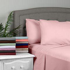 Journee Home Soft Wrinkle Free Microfiber Sheet Set