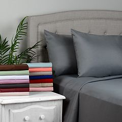Journee Home Soft Wrinkle Free Microfiber Sheet Set